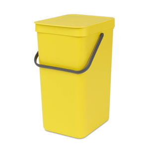 Sort & Go afvalemmer, 16 liter