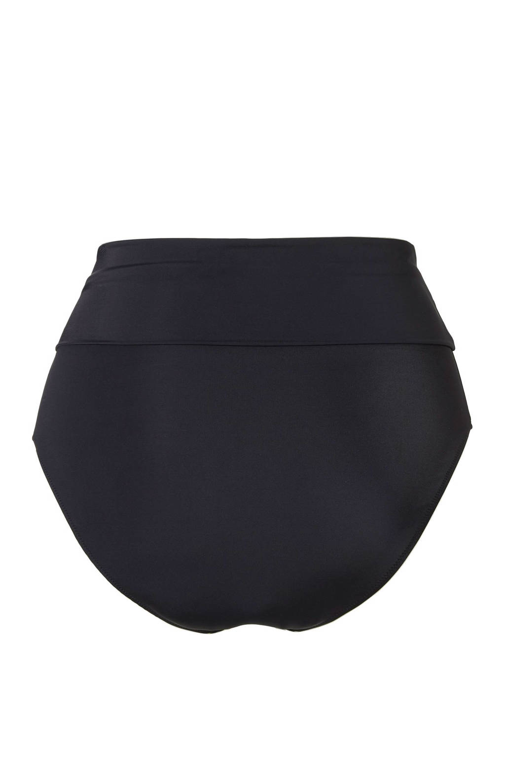 Zizzi corrigerende omslag bikinibroekje +size zwart, Zwart