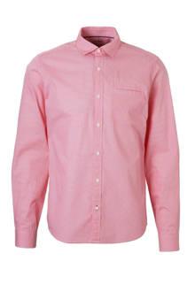 slim fit geruit overhemd