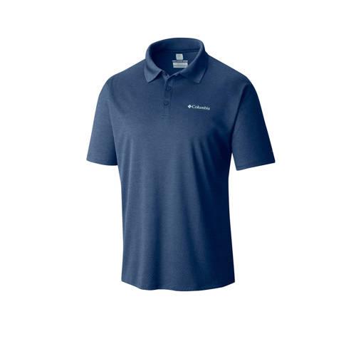 Columbia Zero Rules outdoor polo donkerblauw kopen