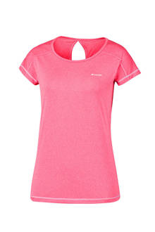 Peak to Point outdoor T-shirt roze