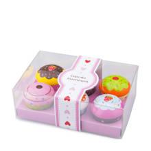 cupcake assortiment in geschenkdoos 6 stuks