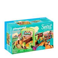 Playmobil Spirit  & Lucky met paardenbox