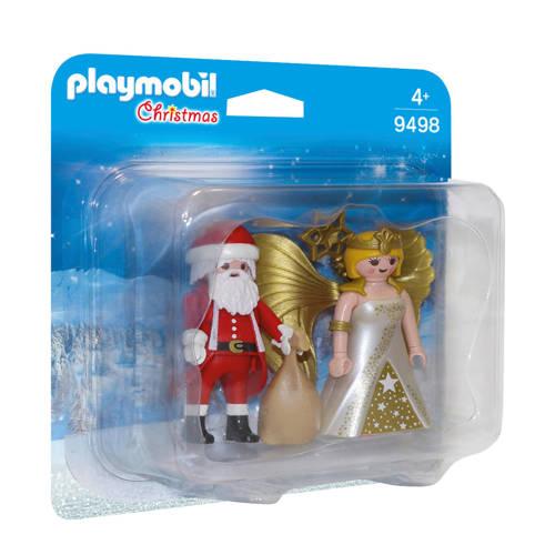 duopack Kerstman en kerstengel