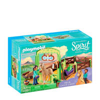 Playmobil Spirit Pru & Chica Linda met paardenbox 9479