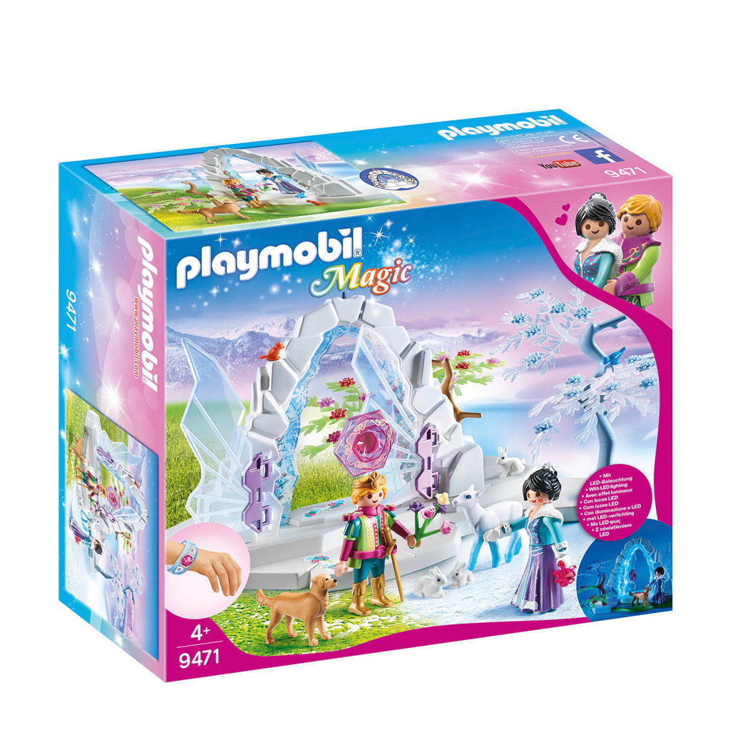 Playmobil Magic kristallen poort naar Winterland 9471