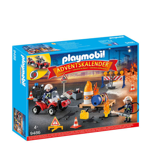 Playmobil Christmas adventskalender interventie op de bouwwerf 9486 kopen