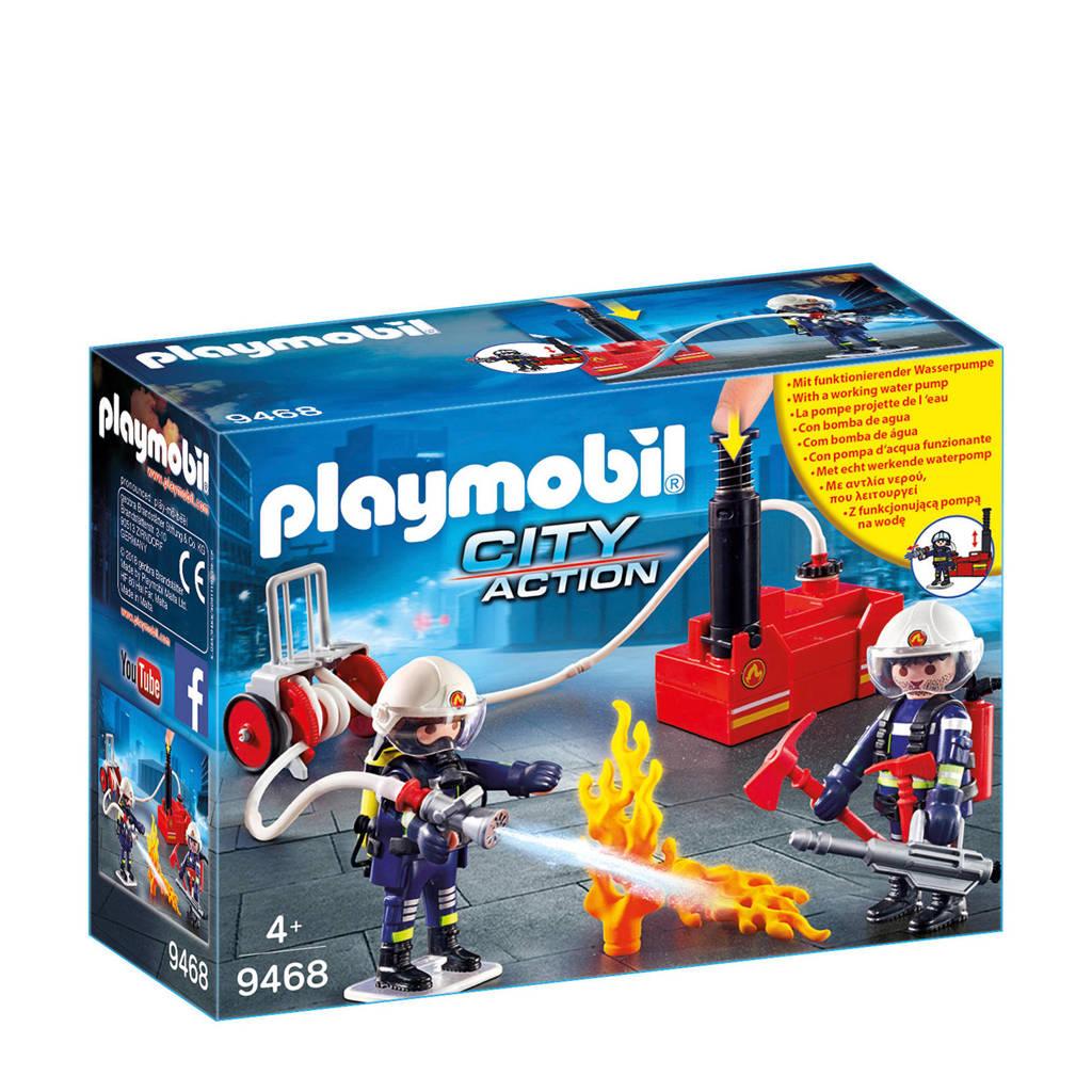 Playmobil City Action brandweerteam met waterpomp 9468