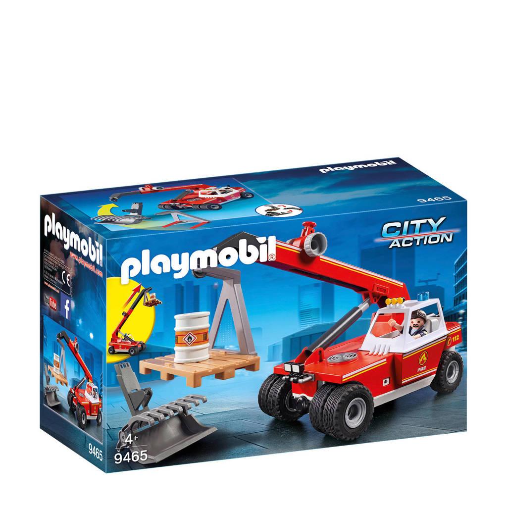 Playmobil City Action brandweer hoogtewerker 9465