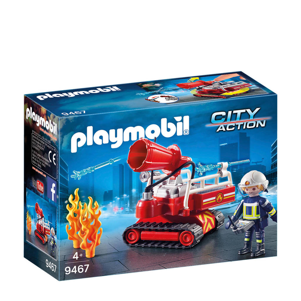 Playmobil City Action brandweer blusrobot 9467
