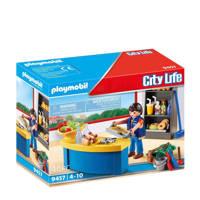 Playmobil City Life  schoolconciërge met kiosk