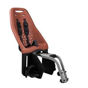 Maxi zadelbuis fietsstoeltje achter bruin