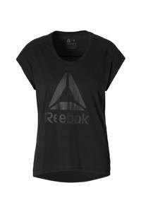 Reebok / sport T-shirt zwart