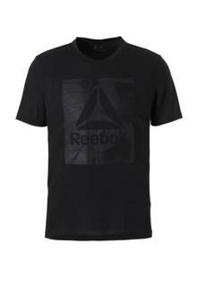 Fitness   T-shirt zwart