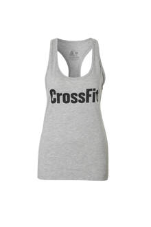 Fitness sporttop grijs
