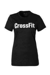 Reebok / CrossFit sport T-shirt zwart
