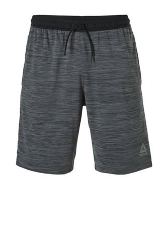 Fitness   sportshort grijs