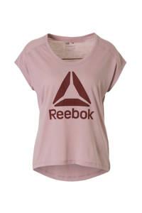 Reebok / sport T-shirt lichtpaars