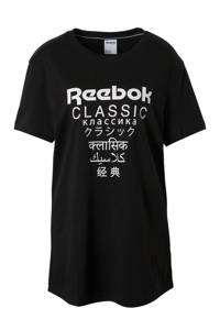 Reebok / Reebok Classics long fit T-shirt zwart