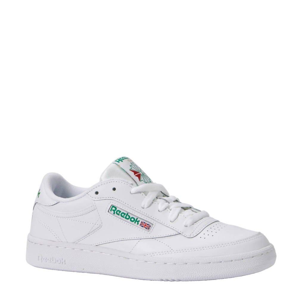 2669c0bcb22 Reebok Classics Club C 85 sneakers, Wit/groen