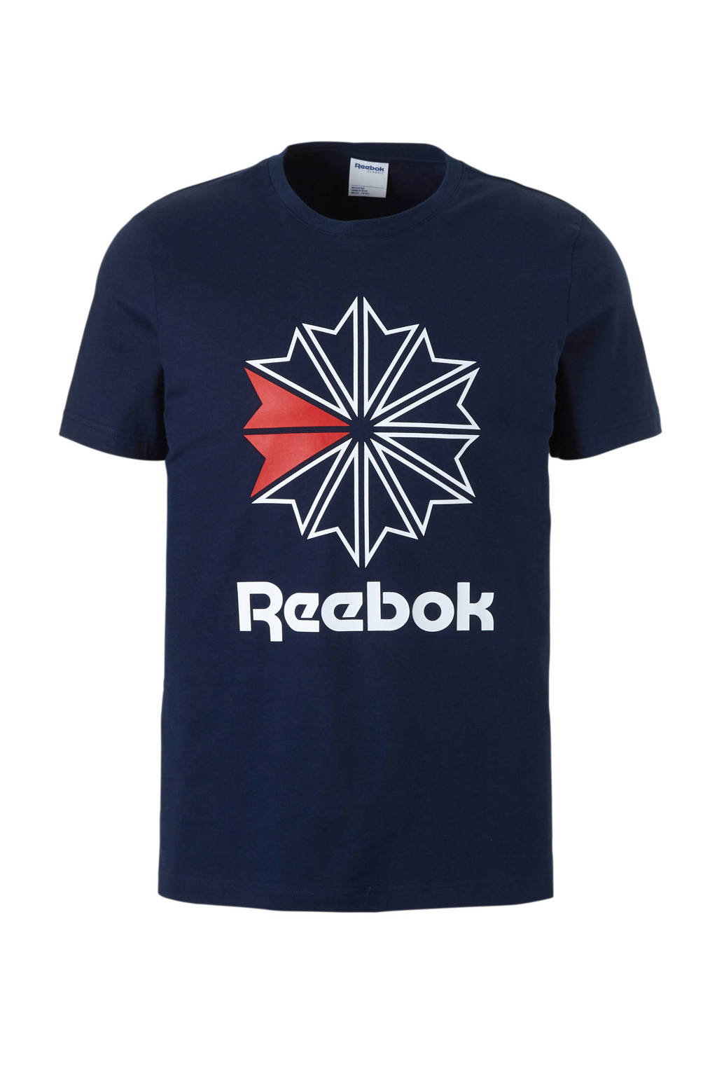Reebok Classics   T-shirt donkerblauw, Donkerblauw