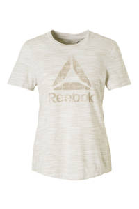 Reebok / sport T-shirt beige