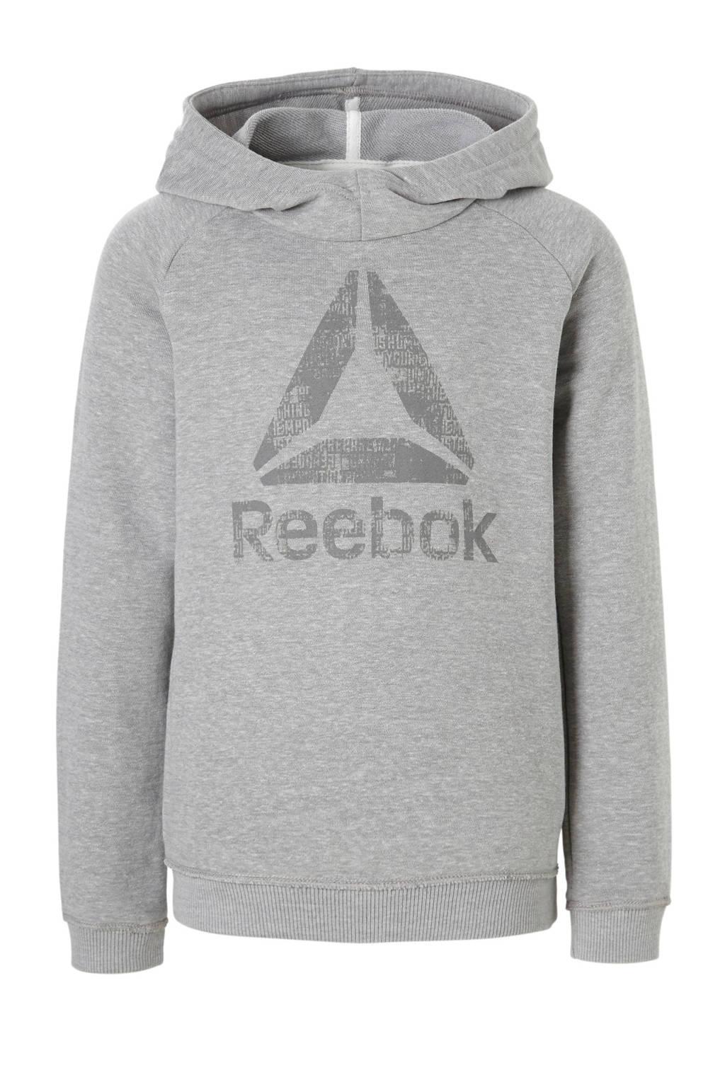 Reebok Fitness   sportsweater lichtgrijs, Lichtgrijs