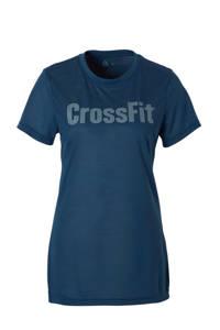 Reebok / CrossFit sport T-shirt donkerblauw