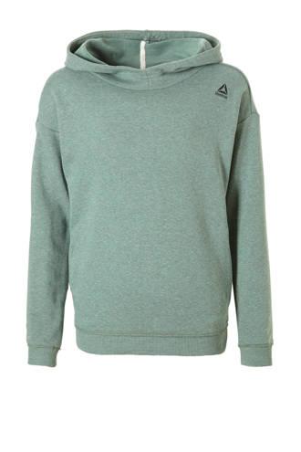 Fitness sportsweater groen