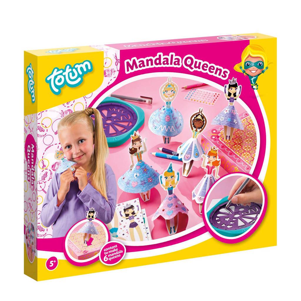 Totum  mandala designset prinsessen