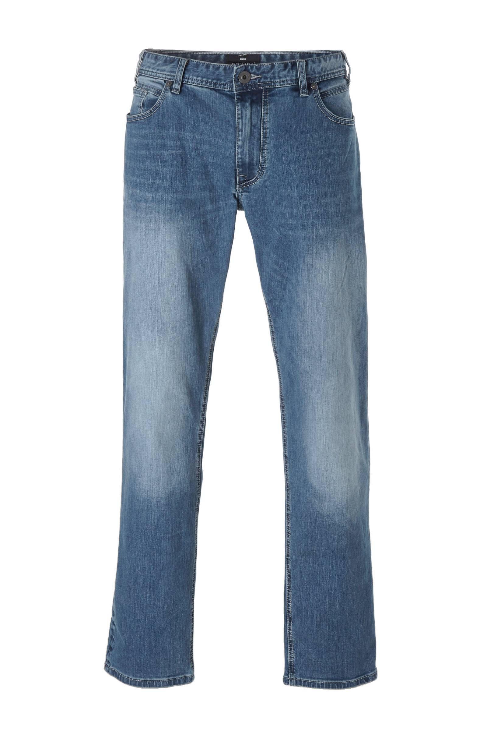 Replika +size Ringo straight fit jeans (heren)