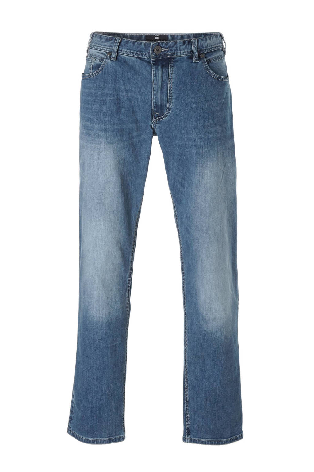 Replika +size straight fit jeans Ringo, 0597 Blue Used Wash