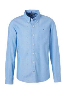 custom fit overhemd lichtblauw