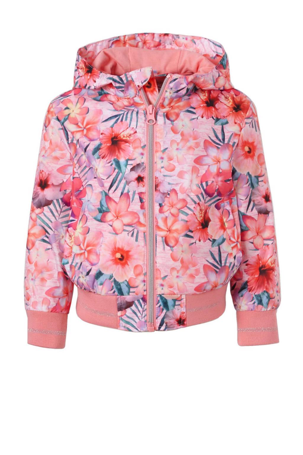 C&A Palomino zomerjas met bloemen, Roze