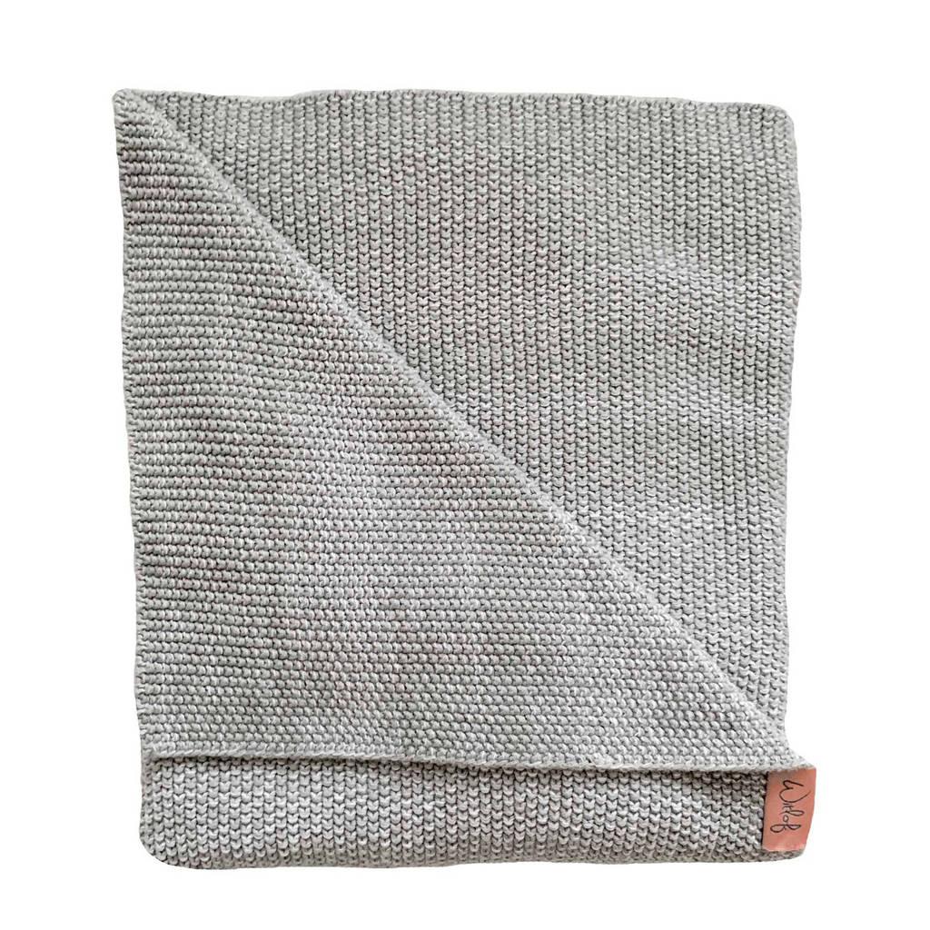 Witlof for kids Tuck-Inn® baby ledikantdeken ombre warm grey, Warm Grey
