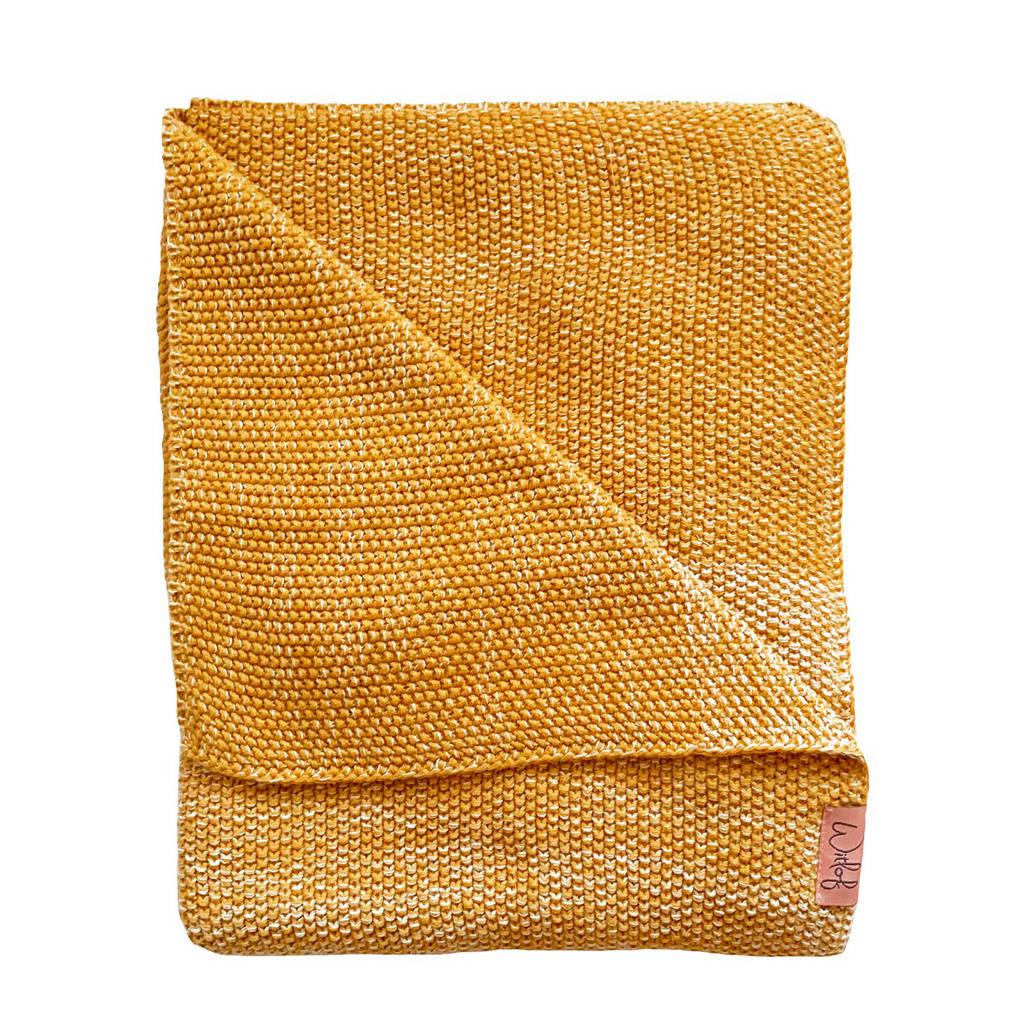 Witlof for kids Tuck-Inn® ledikantdeken ombre sweet honey, Sweet honey