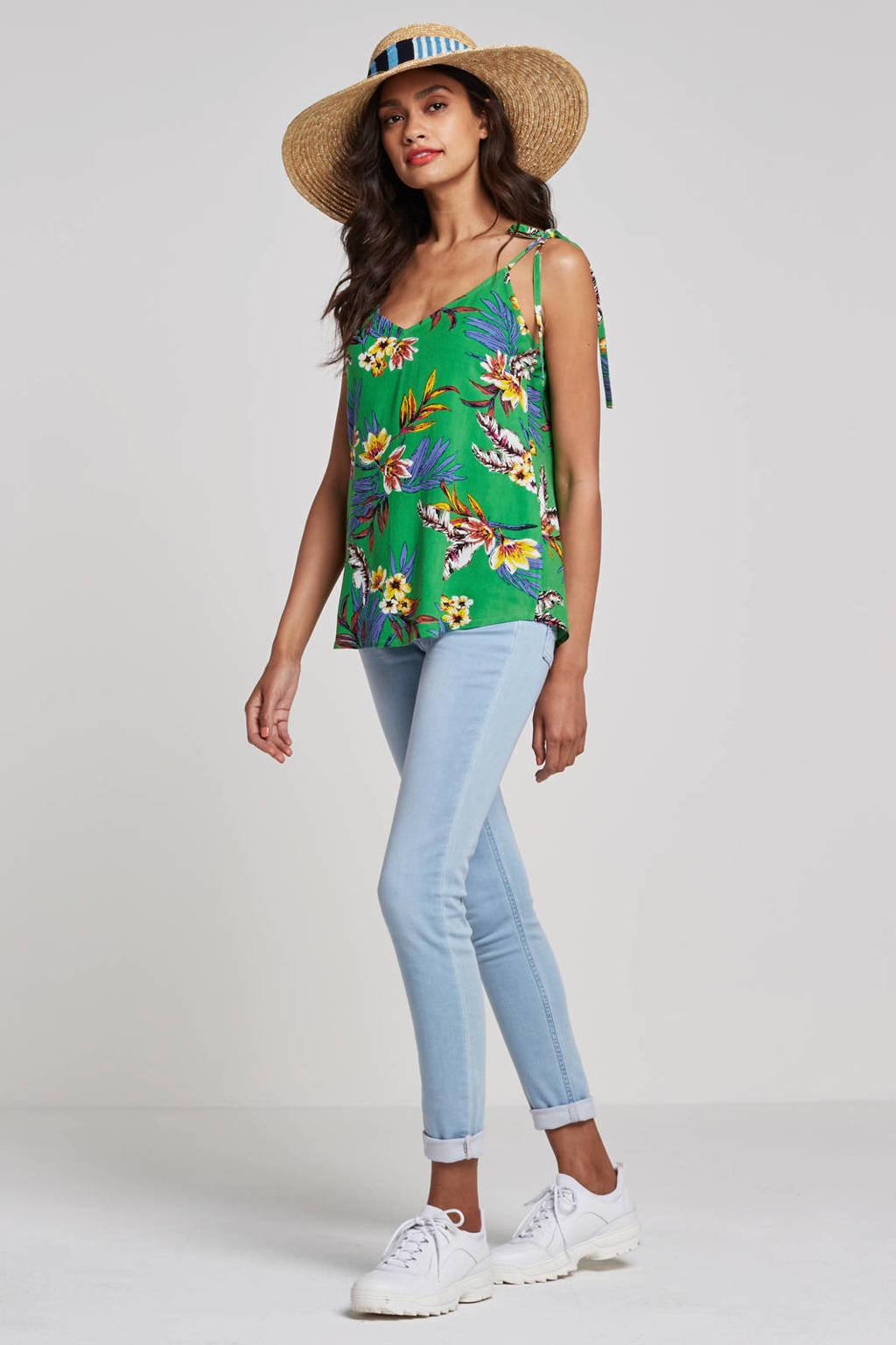 whkmp's own skinny jog jeans, Bleached lichtblauw