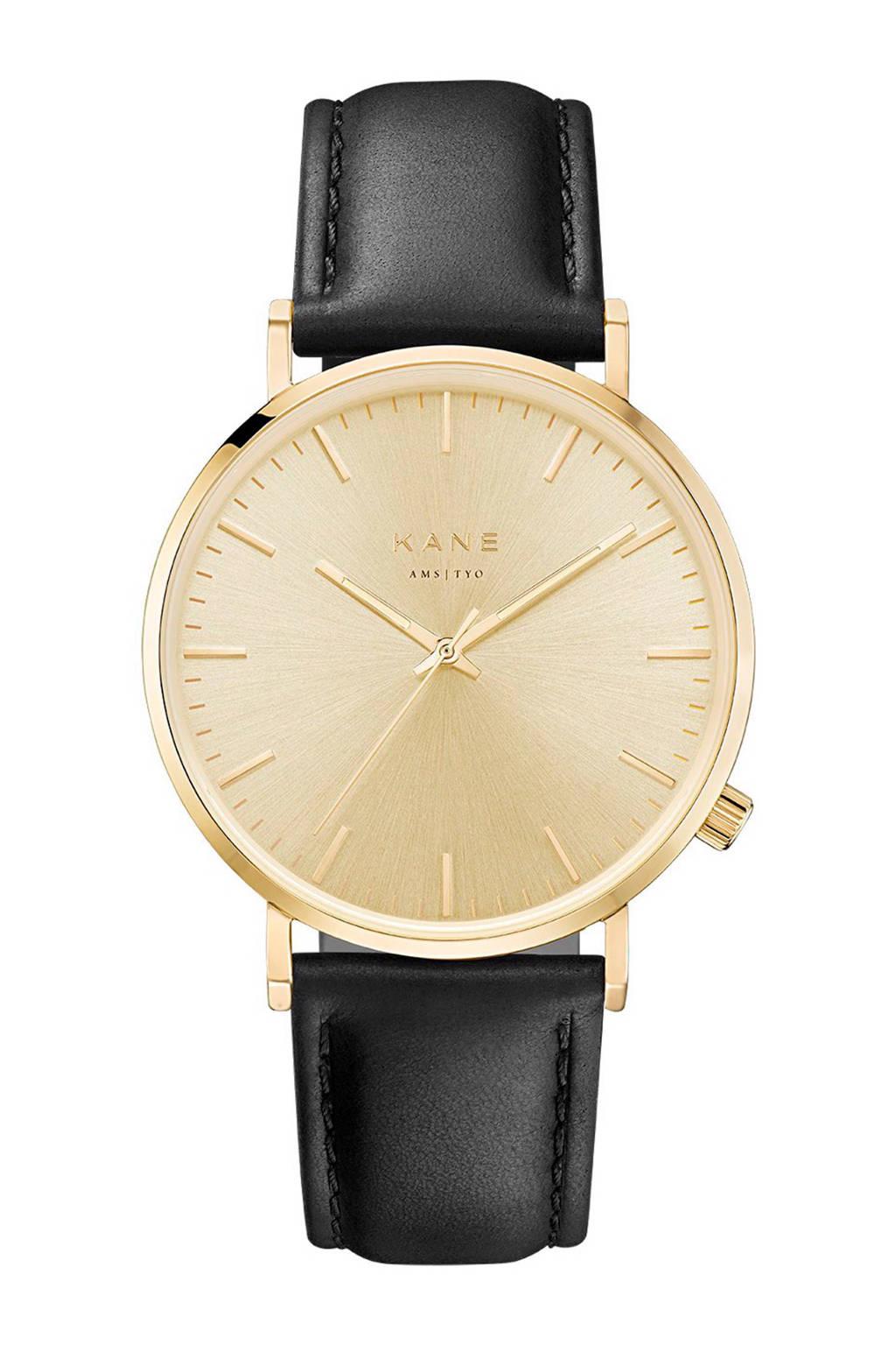 KANE horloge - GG001, Zwart