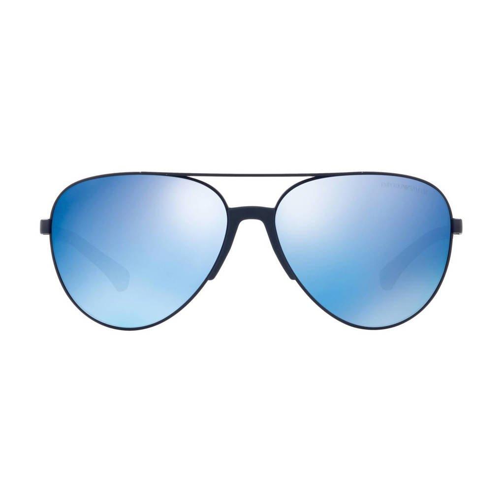 Emporio Armani zonnebril 0EA2059, Blauw