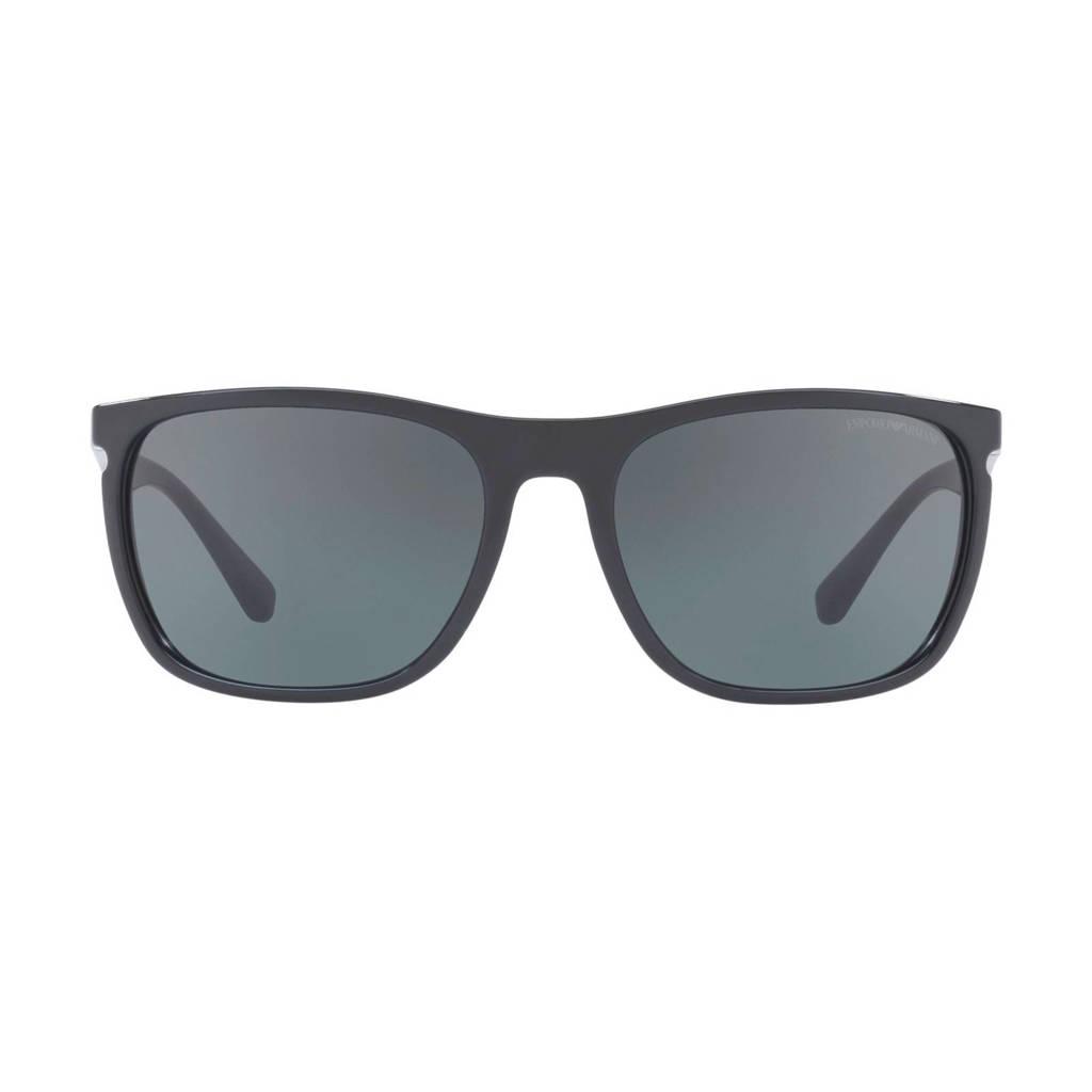 Emporio Armani zonnebril 0EA4107, Zwart
