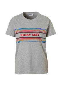 Noisy may T-shirt met printopdruk