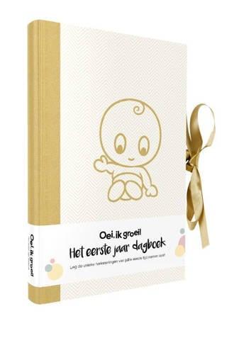 Oei, ik groei! Het eerste jaar dagboek - Xaviera Plas-Plooij