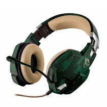 Trust Gaming  GXT 322C Carus gaming headset jungle camo