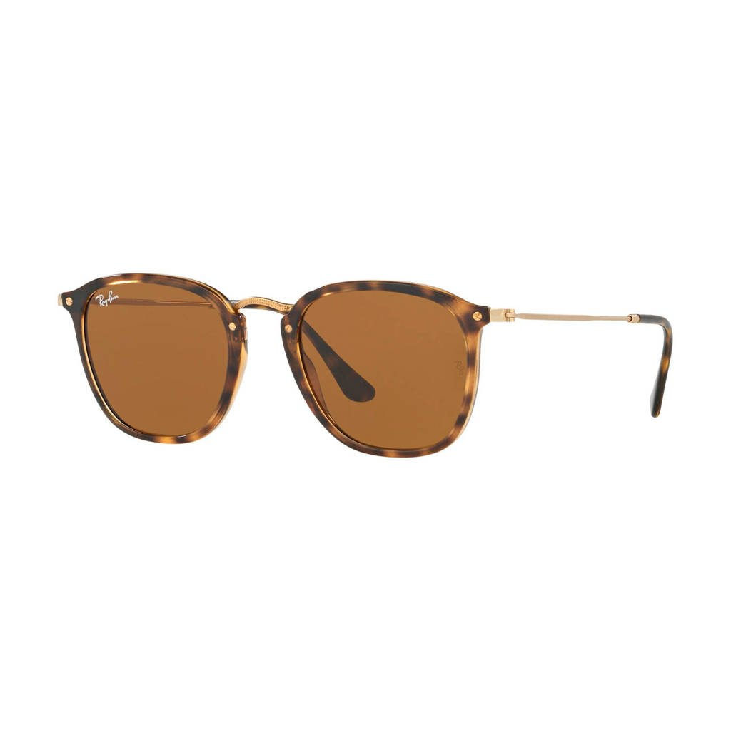 Ray-Ban zonnebril 0RB2448N, Bruin