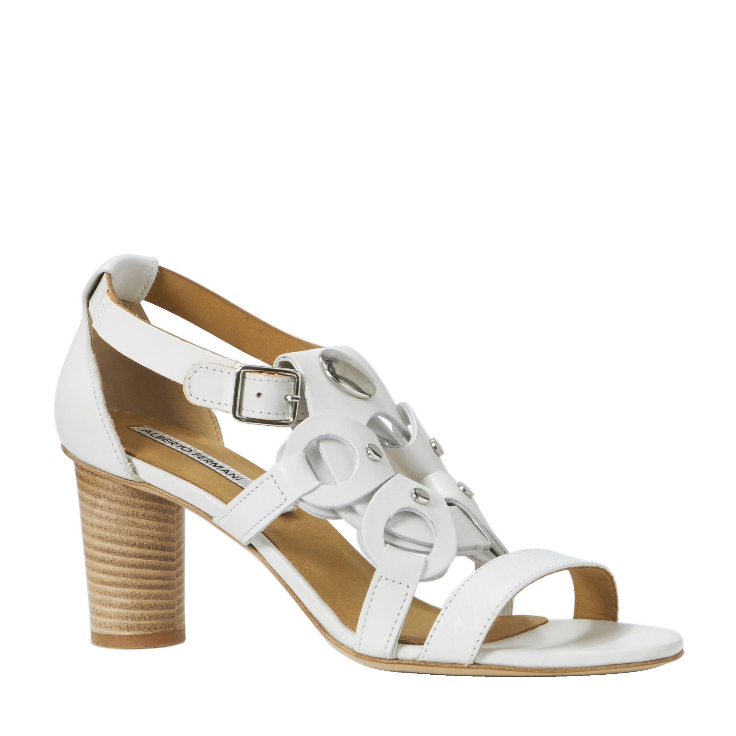 Alberto Fermani Chaussures Blanches Avec Boucle Pour Dames NePjplf5