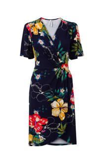 Miss Etam Regulier jurk met bloemen donkerblauw (dames)