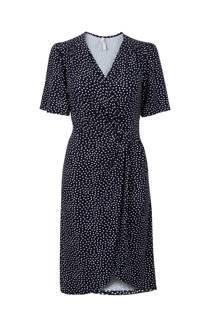Miss Etam Regulier jurk met bloemen marineblauw (dames)