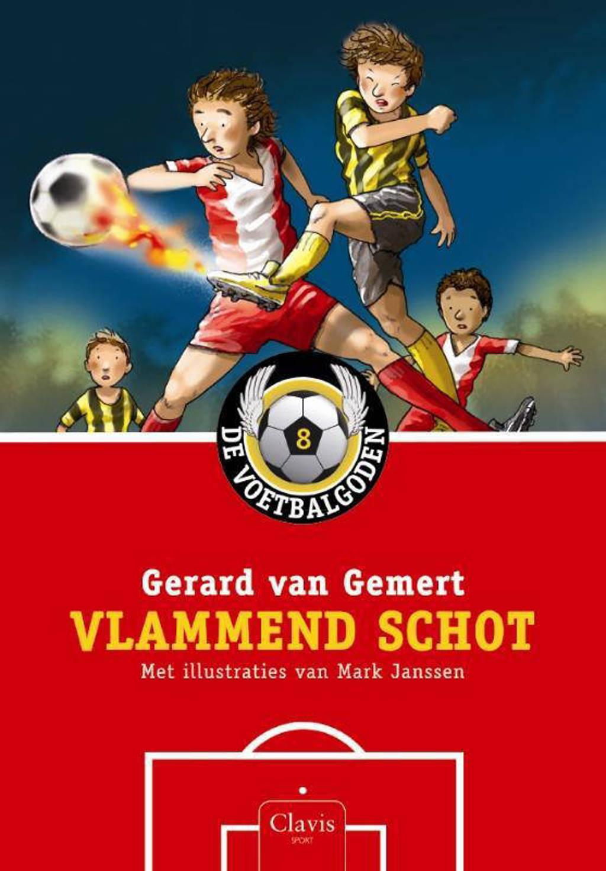 De voetbalgoden: Vlammend schot - Gerard van Gemert
