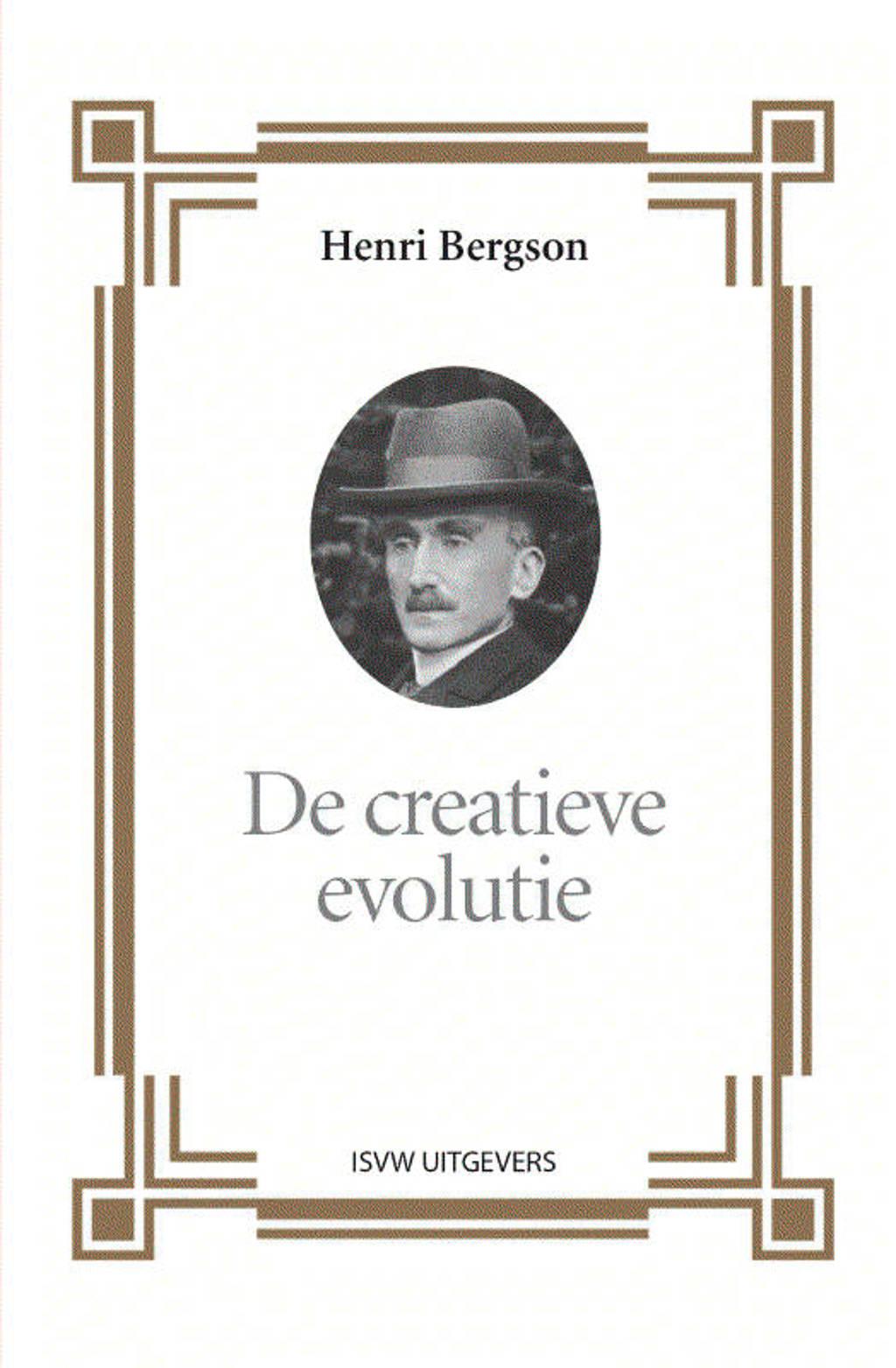De creatieve evolutie - Henri Bergson