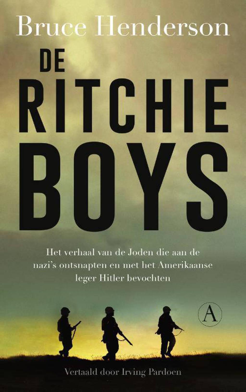 De Ritchie-boys - Bruce Henderson